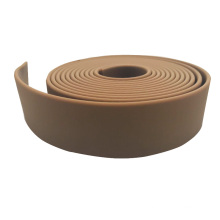 Brown Rubber Vinyl Coated Polyester Webbing For Horse Blanket Strap
