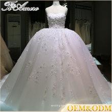 женщин свадебное платье для женщин высокое качество паффи кружева свадебное платье профессиональный сделал большой линии слоистых бальное платье