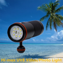 Factory supply LED wide angle best underwater photography lamp