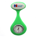 Unisex Pure Silicone Nurse Lapel Watch