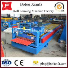 Color Steel Sheet Garage Shutter Door Roll Forming Machine