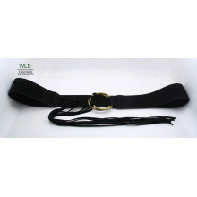 Soft Lady′s Suede Wasit Belt Ky5921