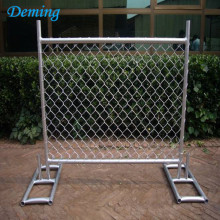 Hot Pvc Portable Dip Galvanized Used Midlertidigt Staket