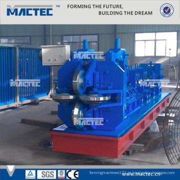 Estándar europeo de calidad superior ranurado glavanized 45 grados ángulo de hierro que hace la máquina