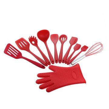Best Silicone Kitchen Utensil tool Set 11 Piece