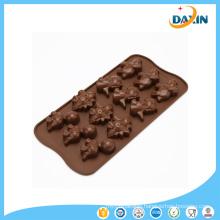 Wholesale Best Price BPA Free Dinosaur Shape Silicone Chocolate Mold
