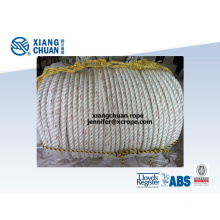 3 Strands High Strength 35mm Diam PP Rope