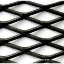Standard Stainless Steel / Aluminum / Copper Leveling Expanded Metal Plate Mesh