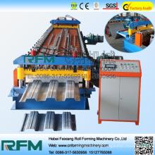 FX hydraulic cutting steel&metal floor deck making machine