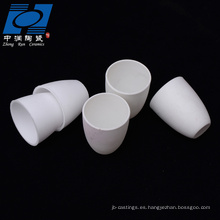 Piezas de cerámica de alúmina blanca para resistencia a altas temperaturas