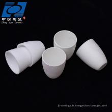 pièces en céramique d'alumine blanche pour une résistance à haute température