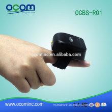 OCBS-R01 Soporte Bluetooth SPP mini anillo escáner de código de barras inalámbrico