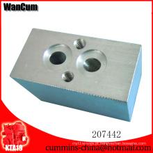 Conexão do bloco de combustível das peças de motor CUMMINS da qualidade superior K19 207442