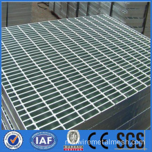 Panas menurun Galvanized Steel Diamond Mesh Grating