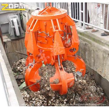 Motor-hydraulische Müll Orangenschale Grab