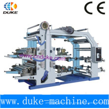Máquina de impresión flexográfica de cuatro colores (YT-600)