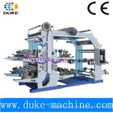 Máquina de impressão flexográfica de quatro cores (YT-600)