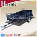 manufacture made dump single axle tractor trailer