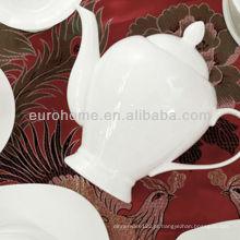 Hotel e restaurante 500ml, 1000ml pote de chá de cerâmica, pote de porcelana café pote de porcelana chá