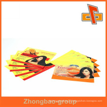 Professional custom PVC packaging labels , PVC bottle warp label for packing shampoo
