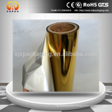 24micron Gold Metalized PET Thermal Lamination Film