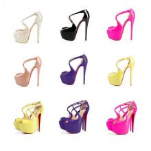 2016 Moda sapatos de sapatos de sapatos de salto alto sexy (s34)