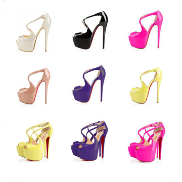 2016 Forme a señora atractiva Dress Shoes del alto talón (s34)