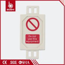 Hot New Design Ladder Scaffold Tag FOR lockout tagout, BD-P31 com CE ROHS