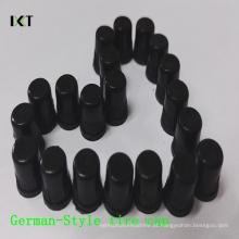 Válvulas plásticas do pneu dos PP tampam o pneu Kxy-Gc01 da forma do Alemanha-Estilo da Anti-Poeira