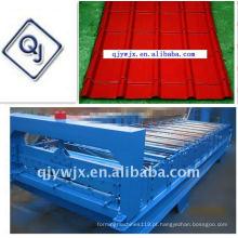 QJ cnc 25-210-840 telha vitrificada rolo frio dá forma à máquina