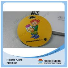 Plastikgeschenk-Karten spezielle Form- / PVC-Geschenk-Karten für Bank- / Plastikgeschenk-Karten