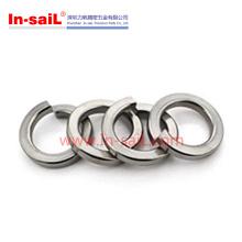 Arruelas de fechamento finas da mola das extremidades quadradas da qualidade de DIN127A chapeadas zinco