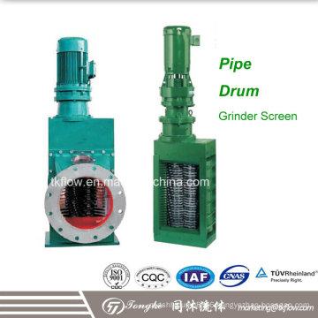 Pipe Type Grinder Channel Waste Water Grinder Screen