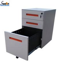 2018 amazon vente chaude en acier 3 tiroirs armoire mobile