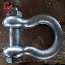 Galvanized Shackles For The Marine Fender Accessories