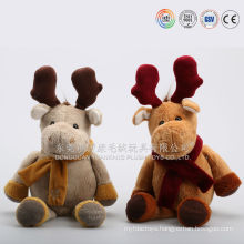 Import plush christmas ornaments gift toy from china gift factory directly