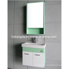Vanité de salle de bain en PVC / cabinet de toilette en PVC (KD-297A)
