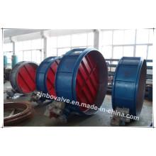 """Suzhou Asme Vertical Válvula Borboleta Wca (d347h-38 """")"""