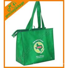 sacos de compras não tecidos reusáveis relativos à promoção do eco da forma da alta qualidade