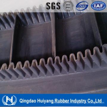 Ceinture de conveyeur en caoutchouc standard de polyéthylène de mine de charbon de DIN DIN