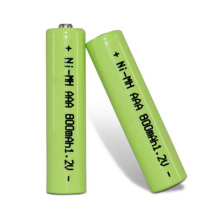 Long Cycle Life 1.2v 600mah Aa batería recargable de Ni-mh
