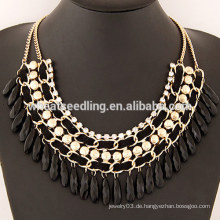 2015 Sommer Trendy Gold Legierung Plating Drop Halskette für Frauen