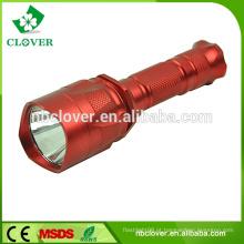 400-800lumens impermeável lanterna lanterna de alumínio potente