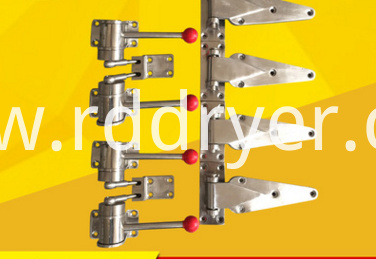 Door lock door hinge drying oven accessories