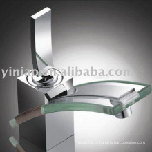 (G001-H) faucet de bacia de vidro