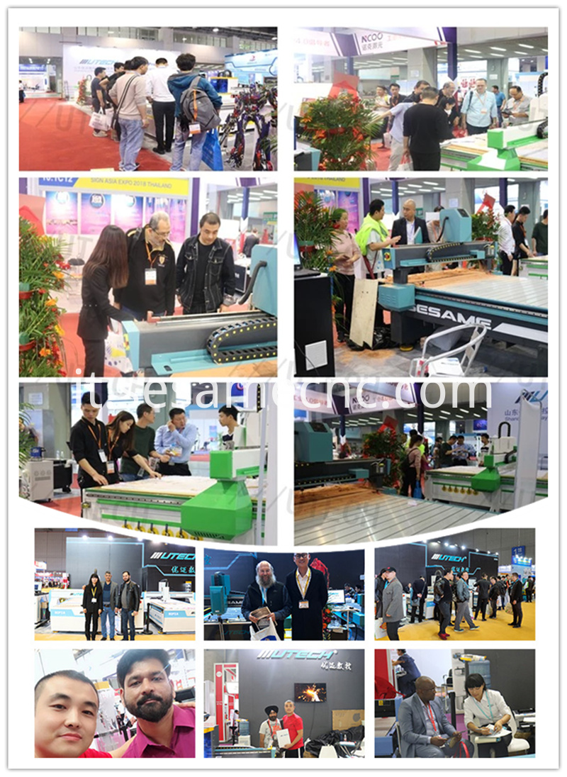 our company exhibition