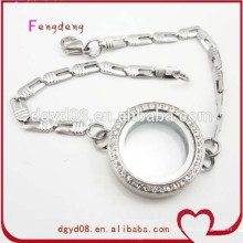High quality wholesale stainless steel charm bracelet bracelet jewelry