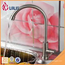 Neue Produkte Edelstahl Wasserhahn einzigen kalten Küche Waschbecken Wasserhahn