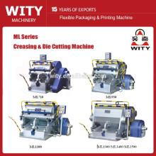 Máquina de troqueladora de papel de la Serie ML