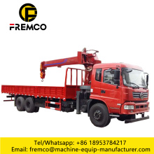 6-16 Tons Telescopic Boom Crane on Truck